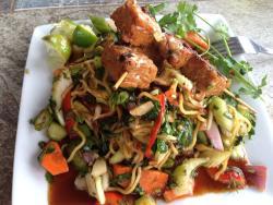Vegetarian Spicy Noodle Salad