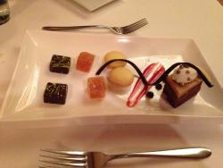 Complimentary dessert for our special occasion