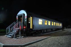 Schlafwagenhotel Historischer Bahnhof
