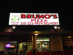 Bruno's pizza