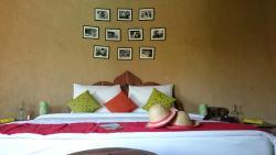 Comfortable beds at Lakshman Sagar