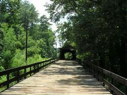 Big Red Oak Creek Covered Bridge