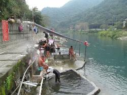 Wulai Hot spring Outdoor Public Baths
