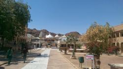 Inner courtyard of Nakoda ji temple
