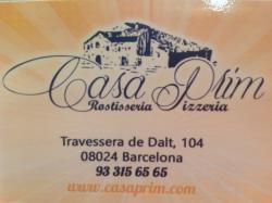 Casa Prim - Rostisseria Pizzería