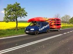 Transport kayaks