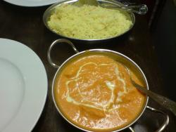 Chicken Tikka Masala and rice