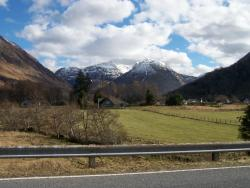 view from caravan park - Invercoe