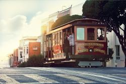 Let the cable car, a National Historic Landmark, take you through several distinct neighborhoods (128022119)