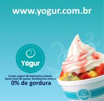 Yogur Frozen Yogurt