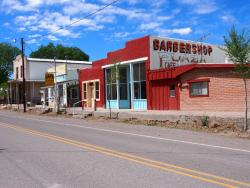 Barbershop Plaza Motel