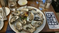 Outstanding oysters & delicious desserts