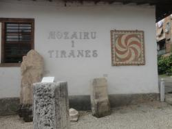 Mosaic of Tirana