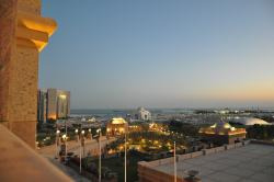 view from our suite at the sunset