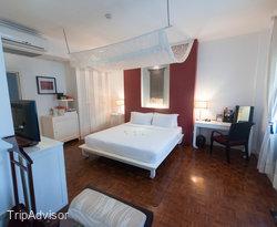 The Champa Room at the Maison Souvannaphoum Hotel