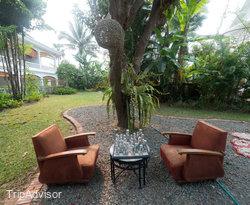 Grounds at the Maison Souvannaphoum Hotel