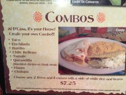 D Casa Mexican  Grill