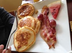 Kids loved the breakfast options.