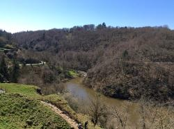 The river Creuse at Crozant