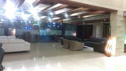 Hotel Lobby at Reception
