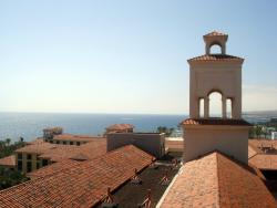 Neem de moeite om naar de bovenste verdieping van de patio's  te gaan: een prachtig uitzicht is