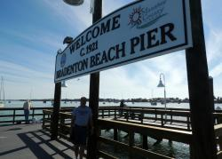 ‪Bradenton Beach City Pier‬