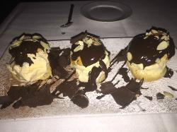 A Trio of Profiteroles