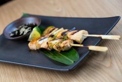 Food at Wakaku Restaurant