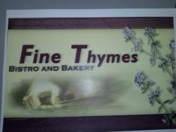 Fine Thymes Bistro & Bakery