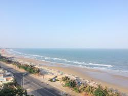 View from ocean star hotel