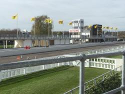 View of the motor racing circuit