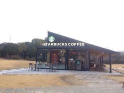 Starbucks Coffee Miyajima Service Area Outbound Line