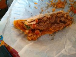 Burrito con carne