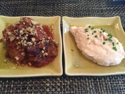 Tarama and Meatball