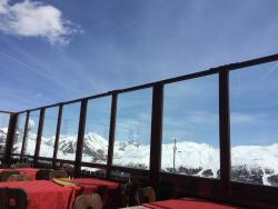 View from the terrace at Costaccia Restaurant