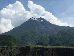 Merapi Mountain Viewing Post