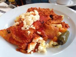 Enchiladas Mineras con pollo