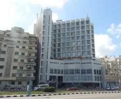 The Hotel from outside
