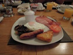 Delicious full welsh breakfast