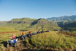 Drakensberg Quad Tracks and Adventures