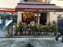 istanbul anatolia cafe and restaurant