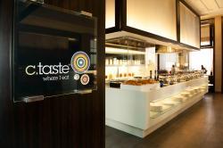 C. Taste
