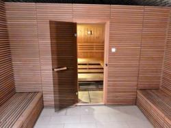 Fine sauna.