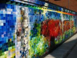 The mural paintings in Brande