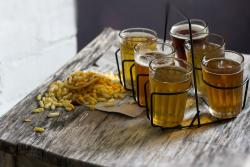 Chauhan Ale & Masala House Craft Beer Flight