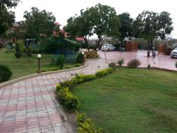 View of resort from dining hall