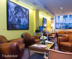 Lobby at the Hotel Miro