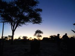Dusk at Elephant Sands
