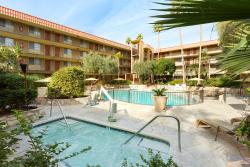Relax in the hot tub or cool off in the refreshing pool