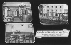Postkarte von 1952 - Zum Schultheiss